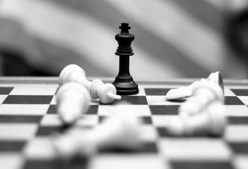 in sales leadership playing chess think strategically