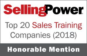 sellingpower tyson group award 2018
