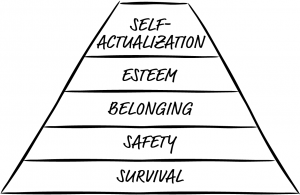 Buying Motives and Maslow's Heirarchy of Needs