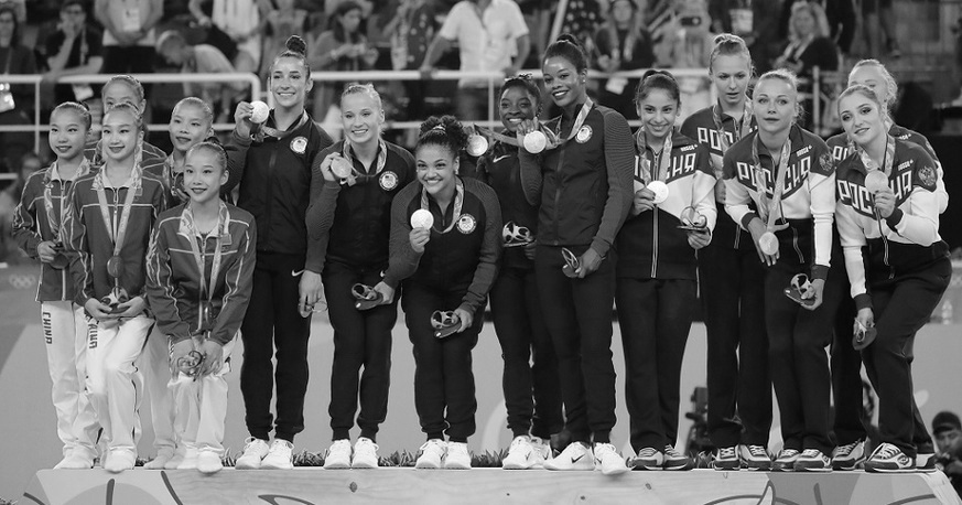 Sales talent for high-performing sales teams . Olympic gymnastics team medalists. Rio 2016.